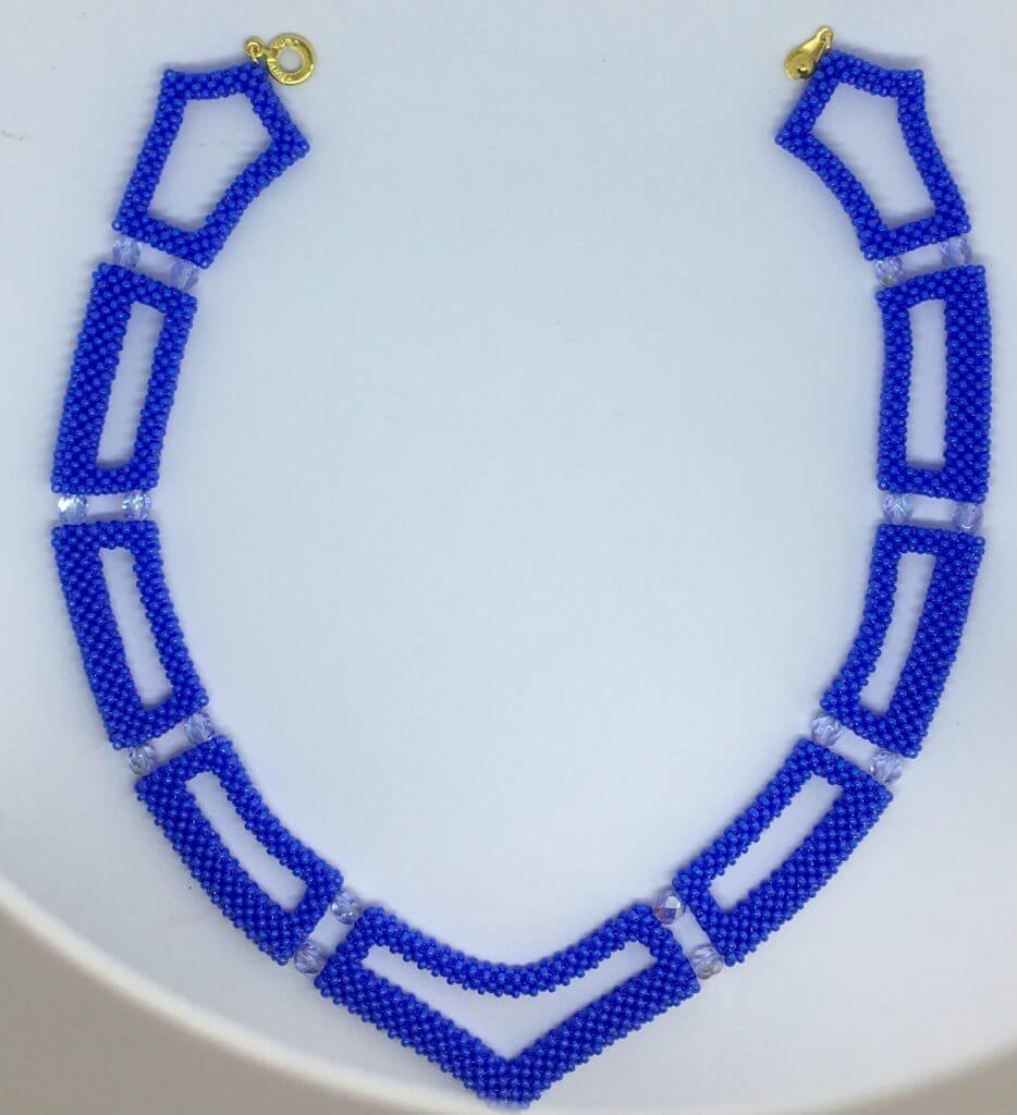 CRAW Necklace – Periwinkle Blue
